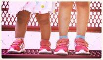różowe buty dla dzieci
