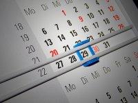 kalendarz z okienkiem