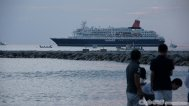Statek wycieczkowy na morzu