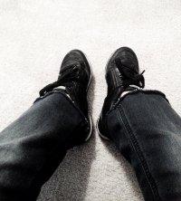 buty na nogach
