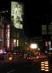 telebimy reklamowe w mieście