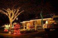 lampki świąteczne, ozdoby świąteczne