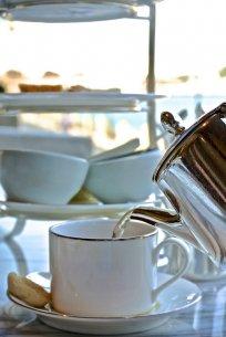 herbata w restauracji